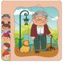 Brimarex TOP BRIGHT Wooden puzzle Grandfather