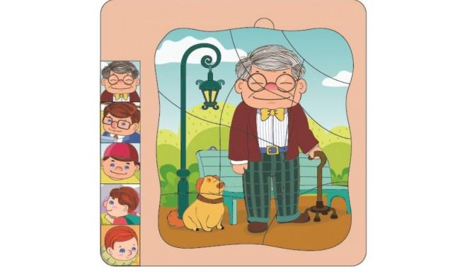 Brimarex wooden puzzle Top Bright Grandfather