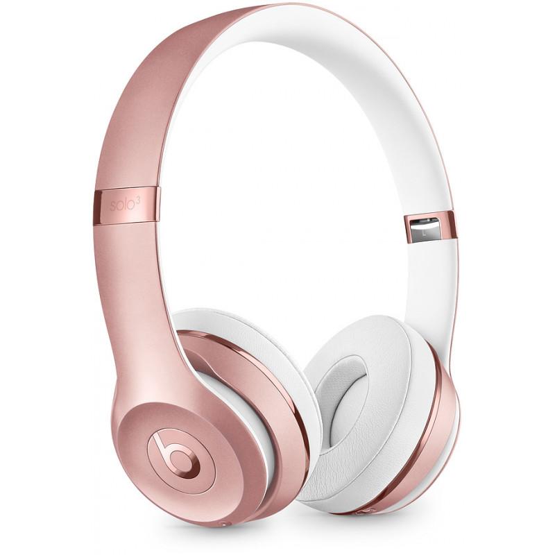 Beats juhtmevabad kõrvaklapid + mikrofon Solo3, rose gold