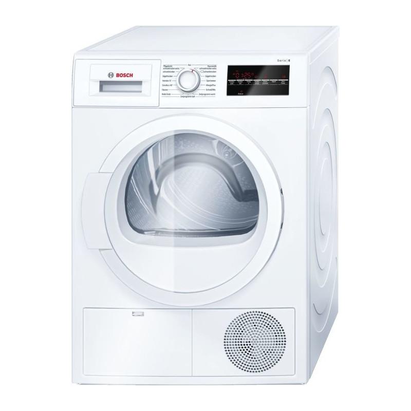 Bosch WTG86400 series -6, condensation dryer(White)