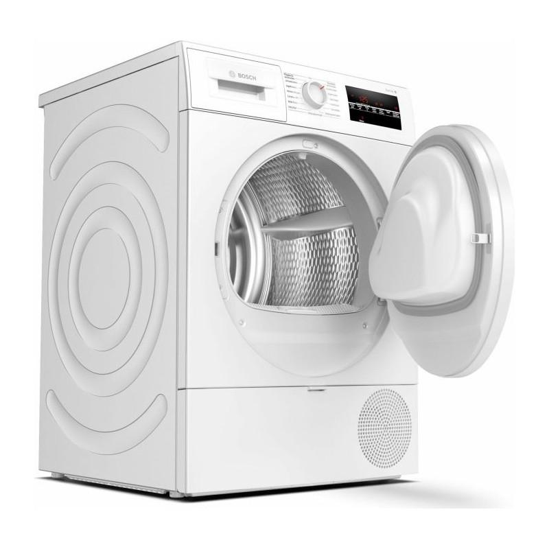 Bosch WTR854A0 series -6, heat pump condenser dryer(White)