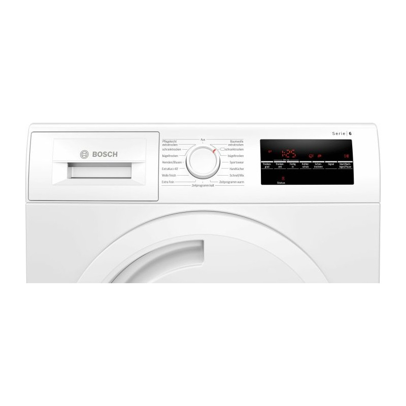 Bosch WTR854A0 series - 6, heat pump condenser dryer (White)