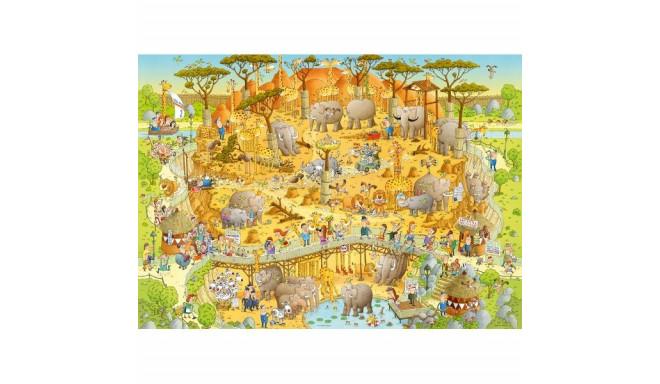 1000 EL. African Habitat