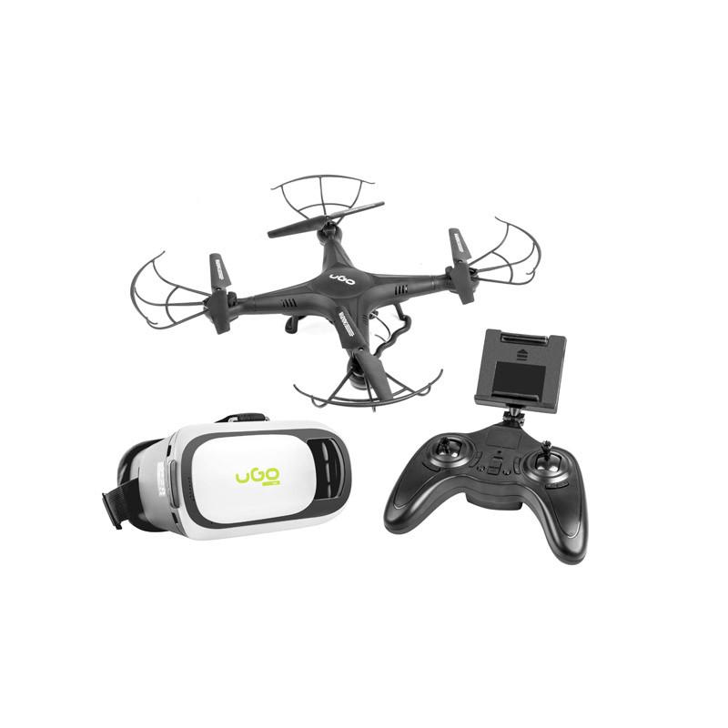 DRONE UGO VGA WIFI MISTRAL 2,4GHZ GYROSCOPE VR (POST-REPAIR)