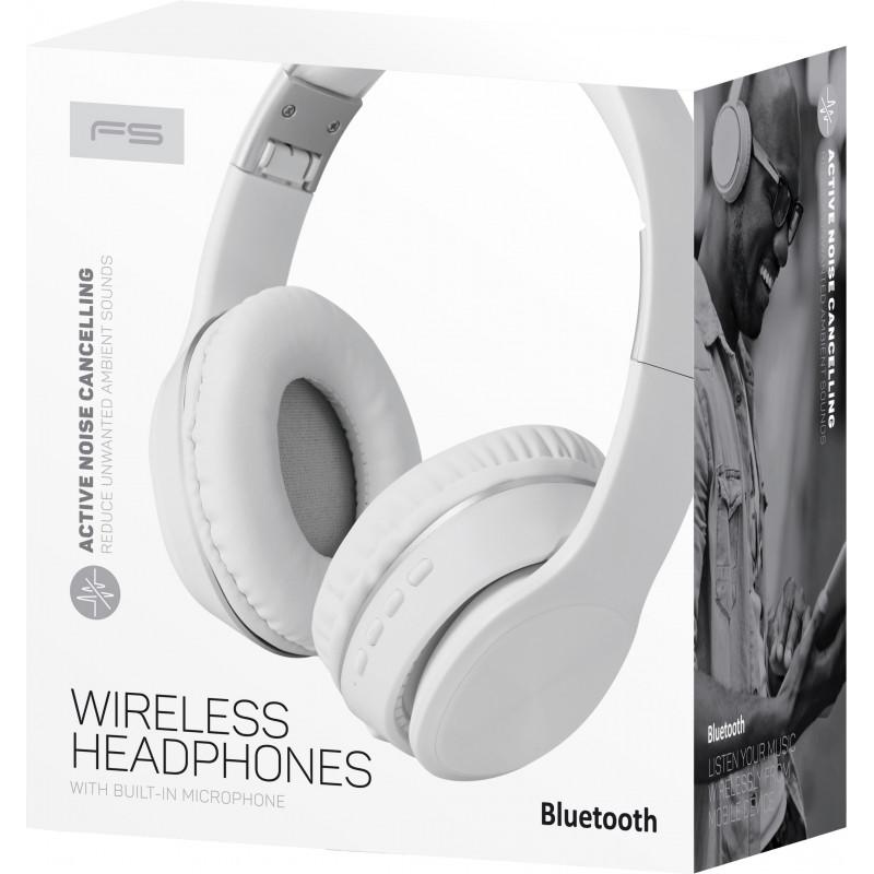 Omega Freestyle juhtmevabad kõrvaklapid + mikrofon FH0925, valge