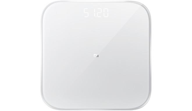 Xiaomi viedie svari Mi Smart Scale 2, balti