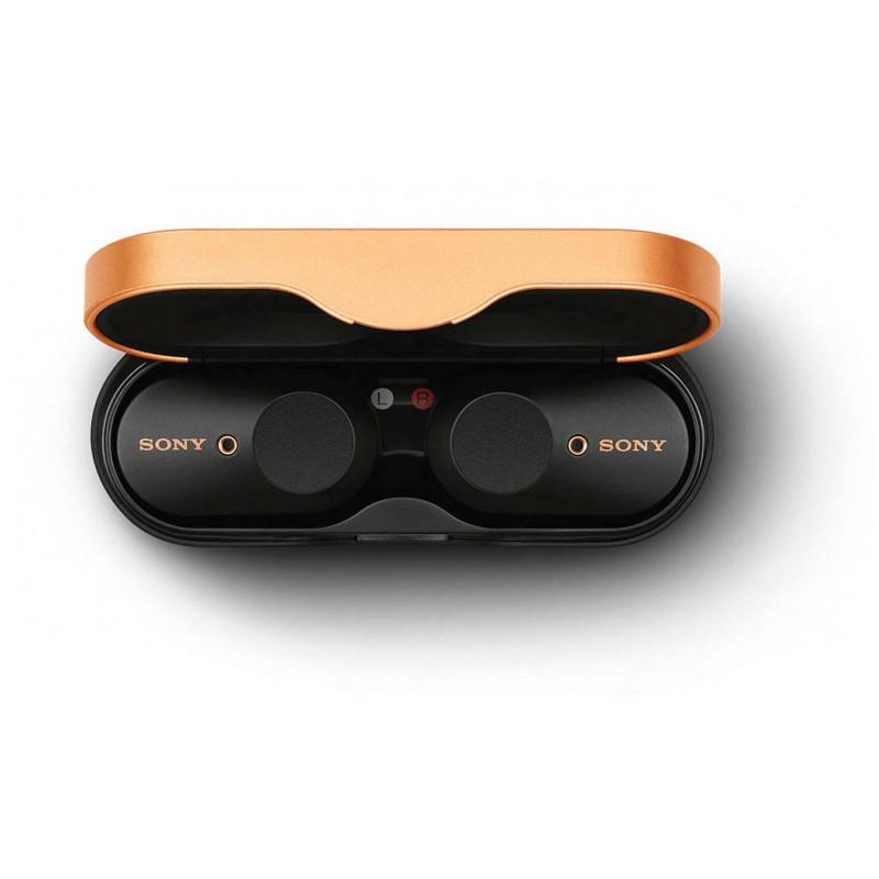 Sony juhtmevabad kõrvaklapid + mikrofon WF-1000XM3, must