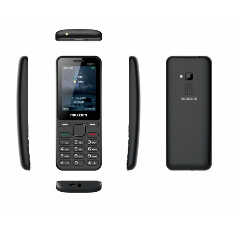 Mobile phone MM 139 DS Black