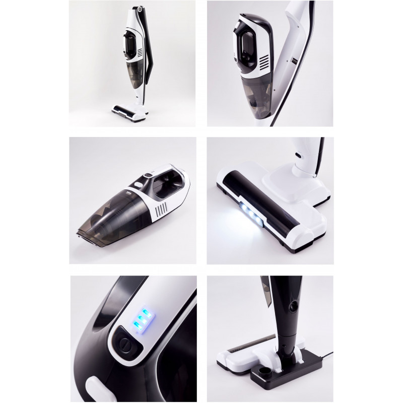Platinet stick vacuum cleaner 2in1, white (45030)