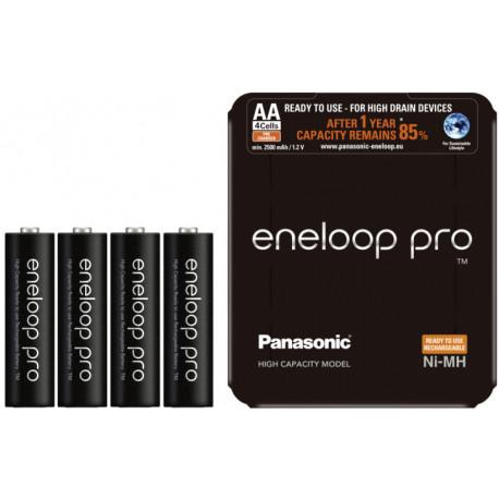 Panasonic eneloop akumulators Pro AA 2500 4SP
