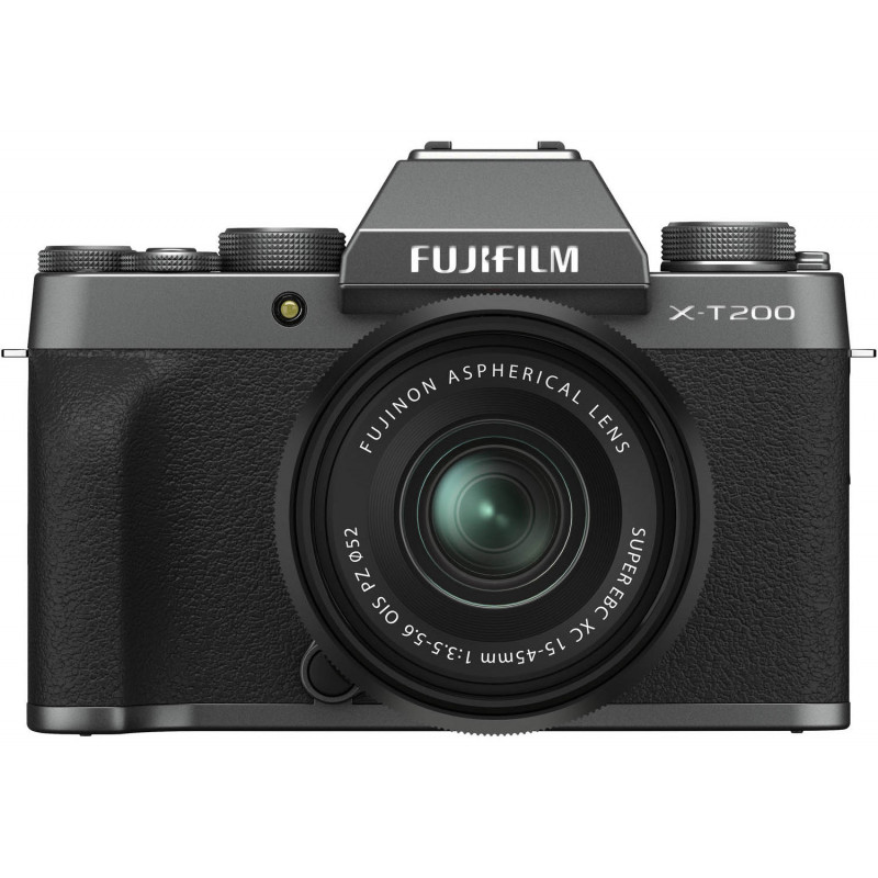Fujifilm X-T200 + 15-45mm Kit, tumehall
