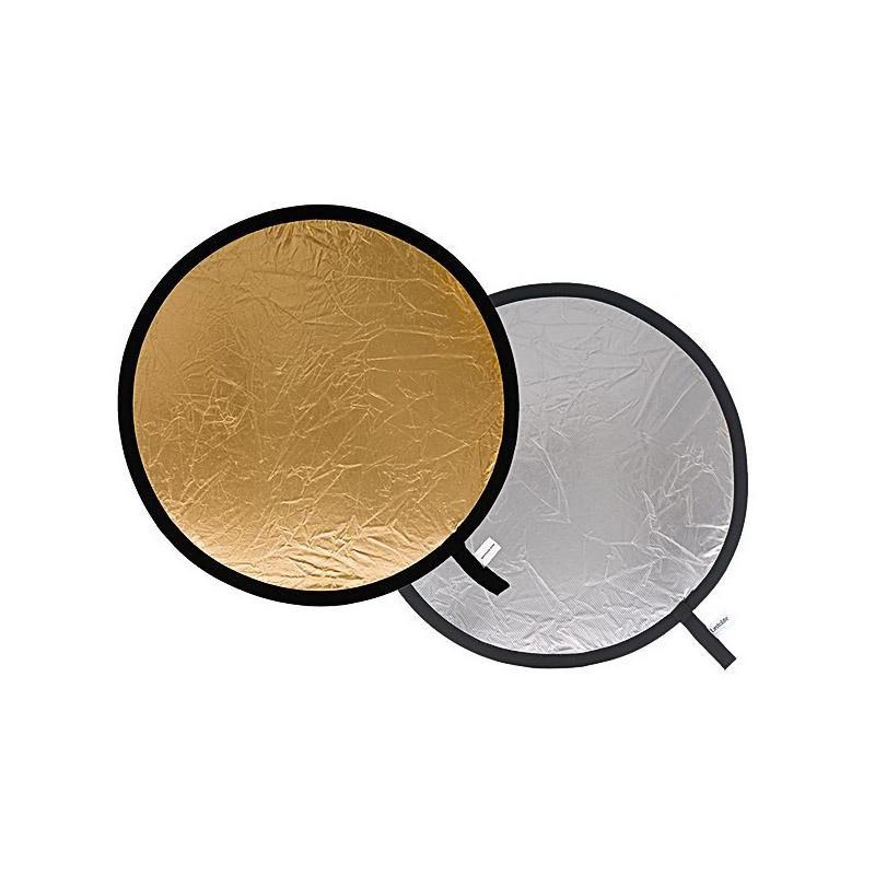 Lastolite reflektor 75cm, hõbedane/kuldne (LA-3034)