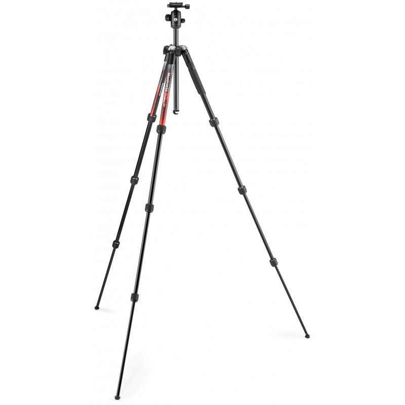 Manfrotto штативный комплект Element MII MKELMII4RD-BH, красный