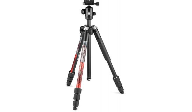 Manfrotto tripod kit Element MII MKELMII4RD-BH, red