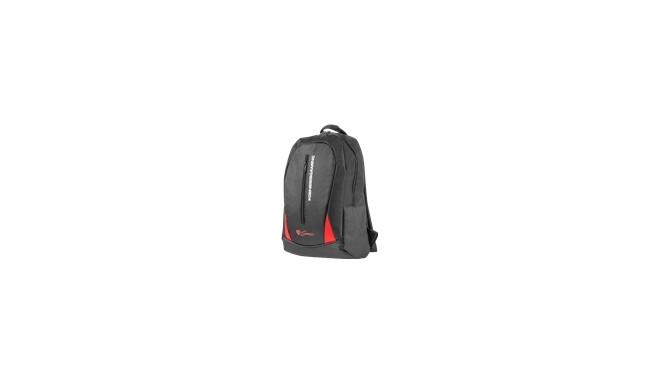 """""""NATEC NBG-1133 GENESIS notebook backpack PALLAD 100; Black 15,6"""""""
