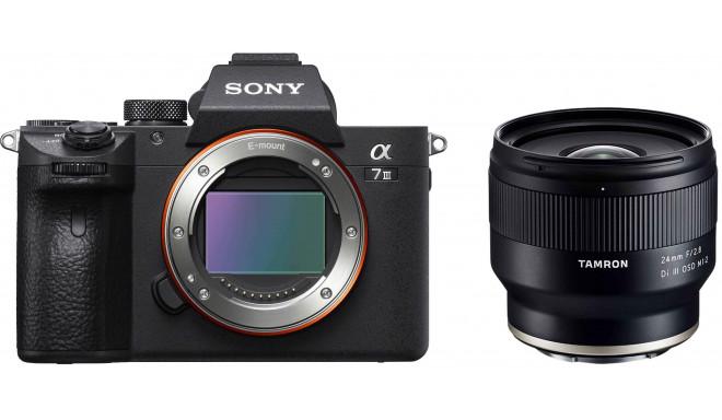 Sony a7 III + Tamron 24mm f/2.8