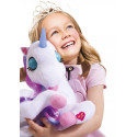 BAMBOLINA plush toy Luna, with moving eyes, horn lights and fairy tales Estonian version, BD2003EE