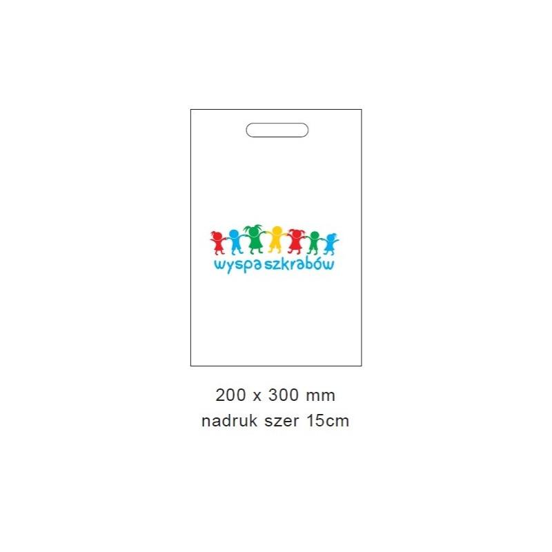 Bag with print 20x30 cm (100 pcs)