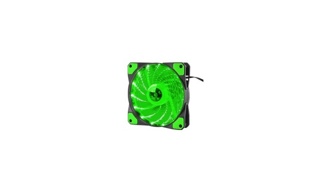 """NATEC NGF-1168 Genesis Fan Case/PSU HYDRION 120 GREEN; LED; 120MM"""