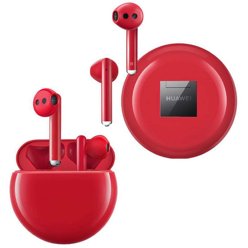 Huawei wireless headset Freebuds 3, red
