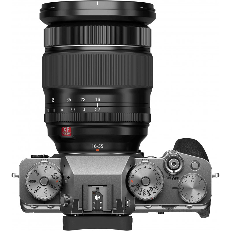 Fujifilm X-T4 + 16-80mm, hõbedane
