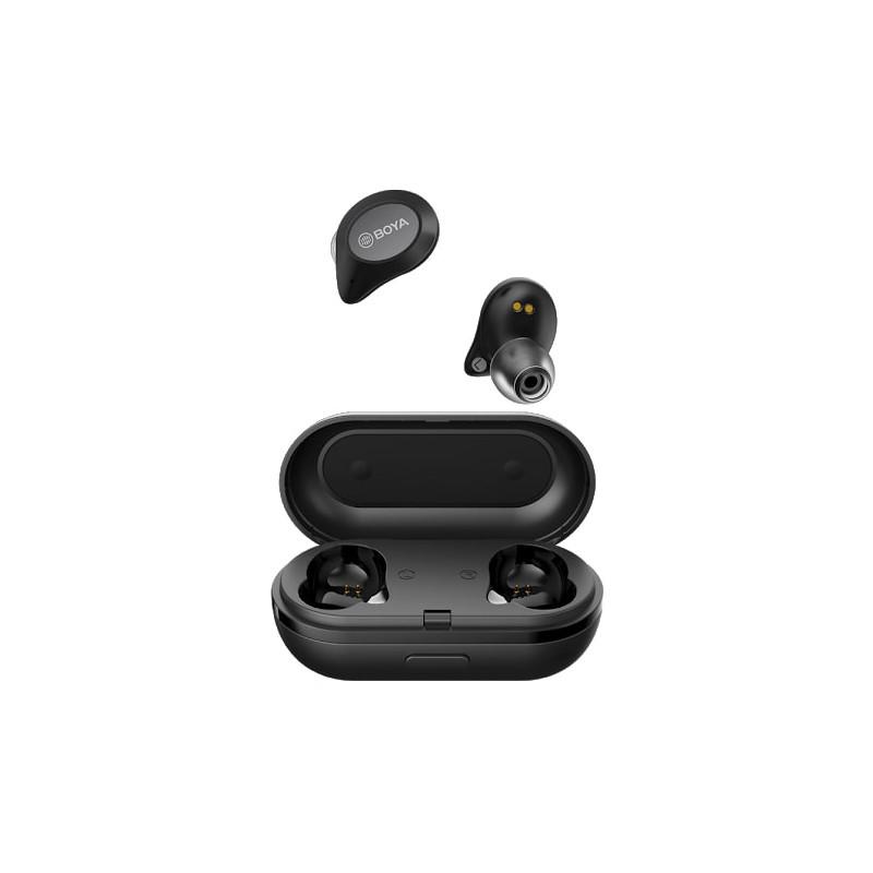 Boya wireless earbuds True Wireless, black