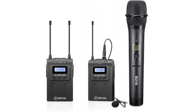 Boya mikrofon BY-WM8 Pro-K4 Kit UHF Wireless