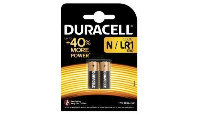 Duracell батарейка LR1/N/MN9100 1,5V/2B