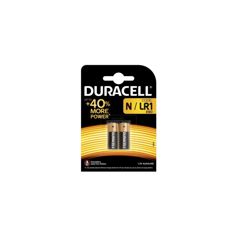 Duracell battery LR1/N/MN9100 1,5V/2B