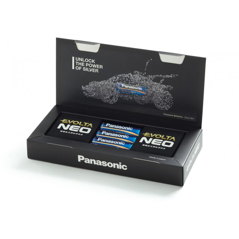 Panasonic Evolta Neo patarei LR6 4B