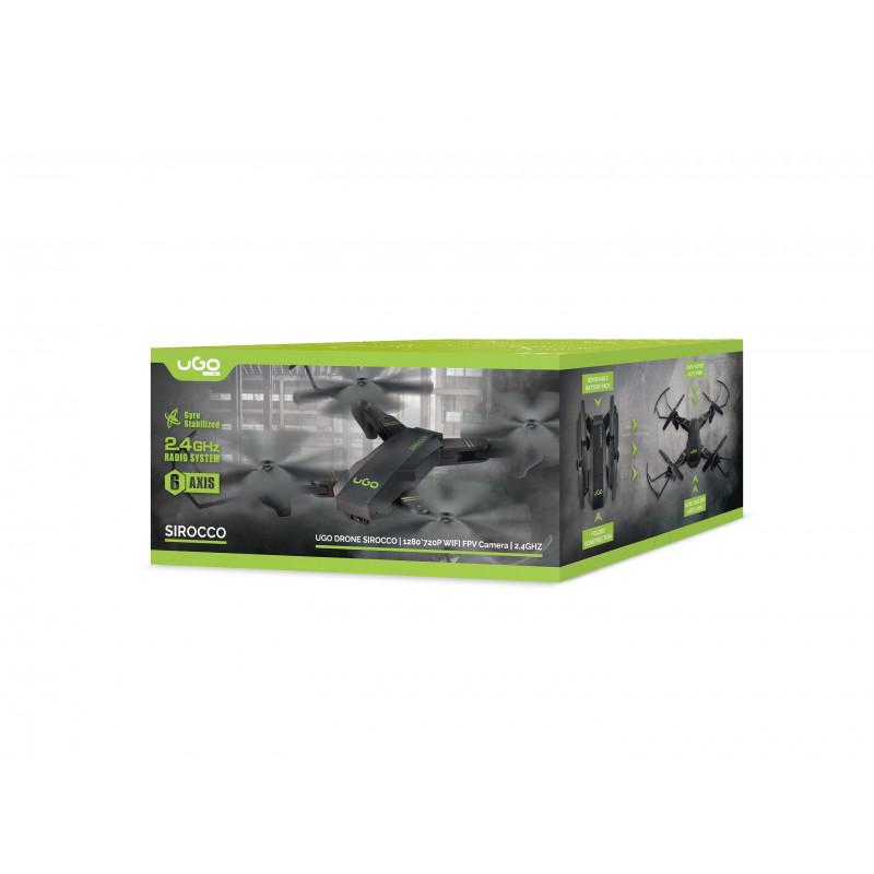 DRONE UGO SIROCCO CAMERA HD 2,4GHZ GYROSCOPE