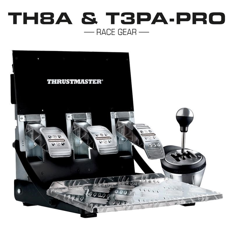 Kit TH8A Gear Box and T3PA Pro Pedals