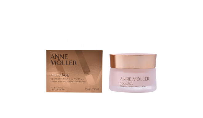 ANNE MÖLLER GOLDÂGE restructuring night cream 50 ml