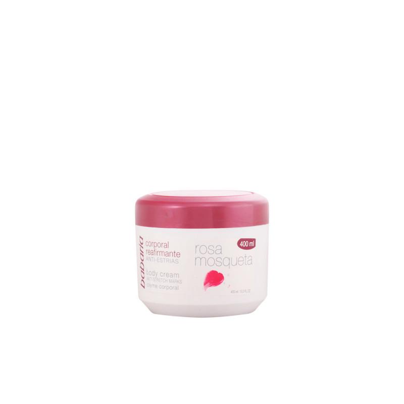 BABARIA ROSA MOSQUETA crema corporal anti-estrías 400 ml