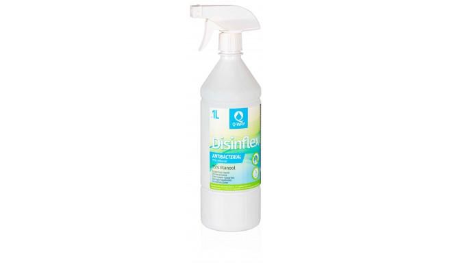 Q-Way дезинфицирующее очищающее средство Disinflex 75% 1 л