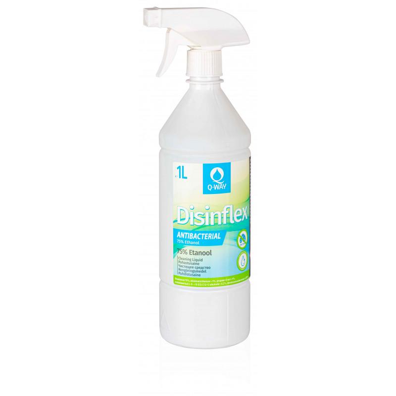 Q-Way disinfectant cleaner Disinflex 75% 1l