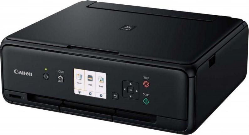 Canon tindiprinter PIXMA TS5055, must + fotopaber..