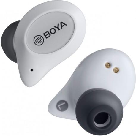 Boya беспроводные наушники + микрофон True Wireless BY-AP1, белая