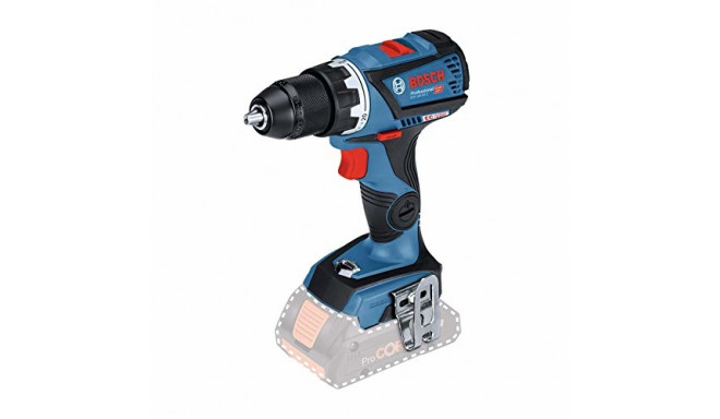 Bosch cordless drill GSR 18V-60 C Professional (blue / black, without battery and charger)