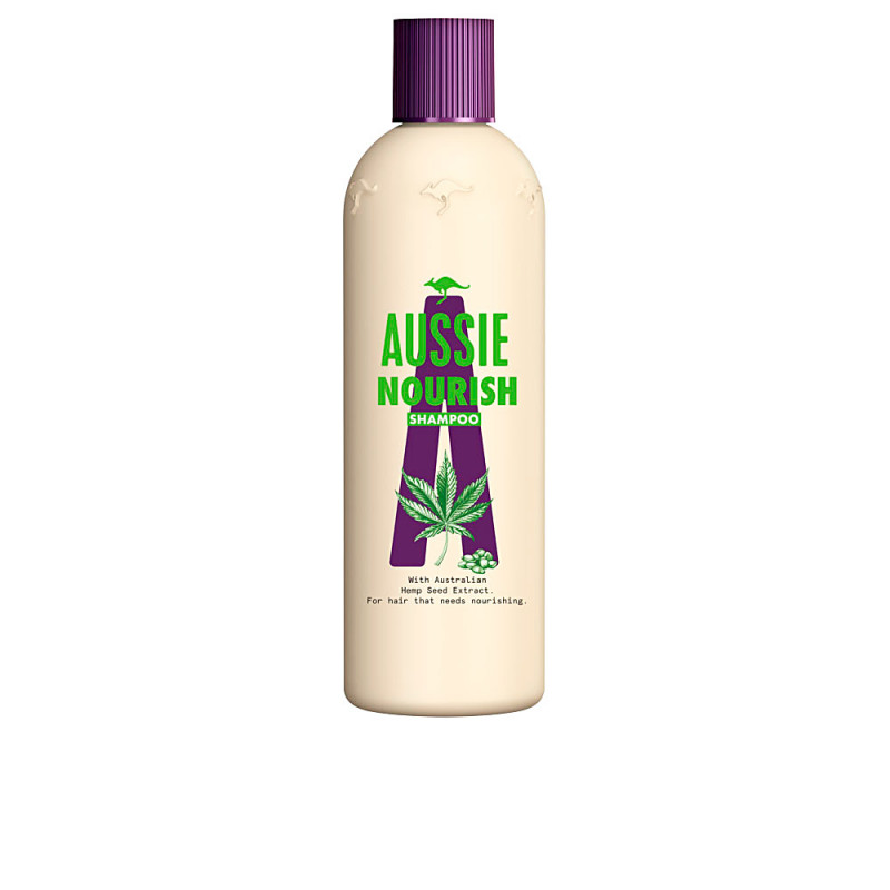AUSSIE HEMP nourish shampoo 300 ml