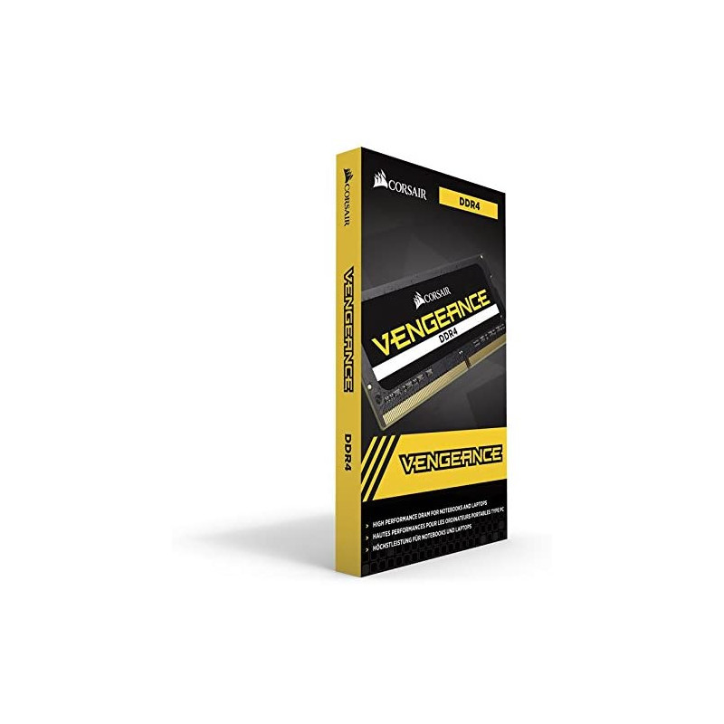 Corsair RAM 16GB DDR4 2666 CL18 Single Vengeance Black