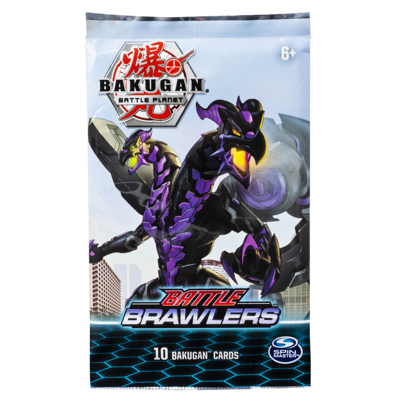 BAKUGAN cards pack Booster, 6045134