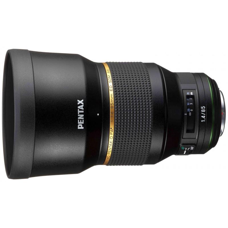 HD Pentax-D FA* 85 mm f/1.4 ED SDM AW objektiiv