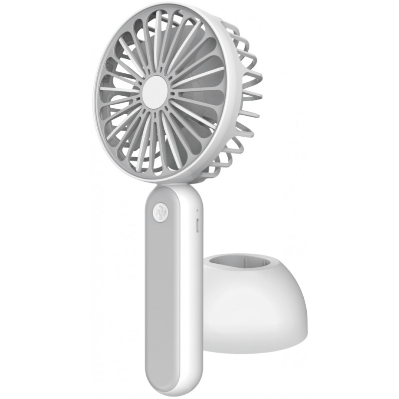 Platinet rechargeable fan, white/grey (45246)