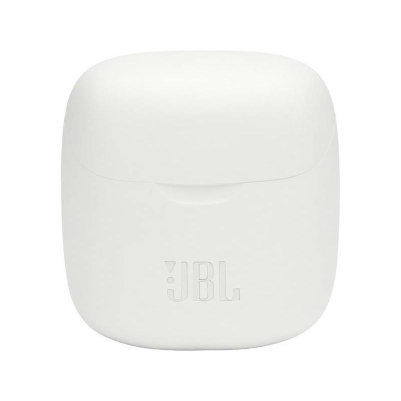 JBL juhtmevabad kõrvaklapid + mikrofon Tune 220, valge
