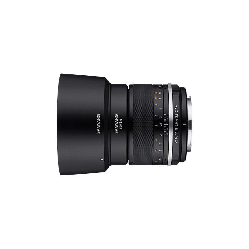 Samyang MF 85mm f/1.4 MK2 objektiiv Canonile