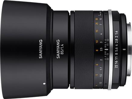 Samyang MF 85mm f/1.4 MK2 objektiiv Sonyle