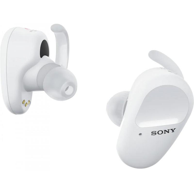 Sony juhtmevabad kõrvaklapid + mikrofon WF-SP800NW, valge
