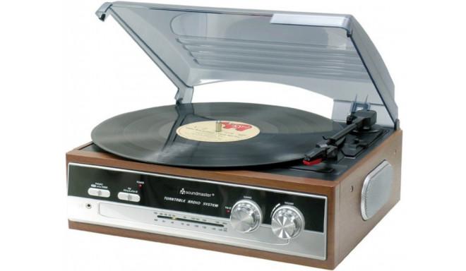 Soundmaster vinüülplaadimängija PL186H