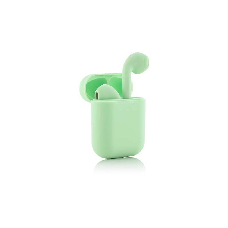 InnovaGoods juhtmevabad kõrvaklapid + mikrofon NovaPods, roheline